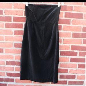 """NWT! SJP Velvet """"Bitten"""" Strapless Dress"""